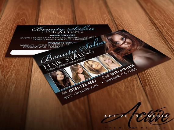Hair Salon Buisness Cards Lovely Hair Stylist Business Cards Business Card Design Stylist
