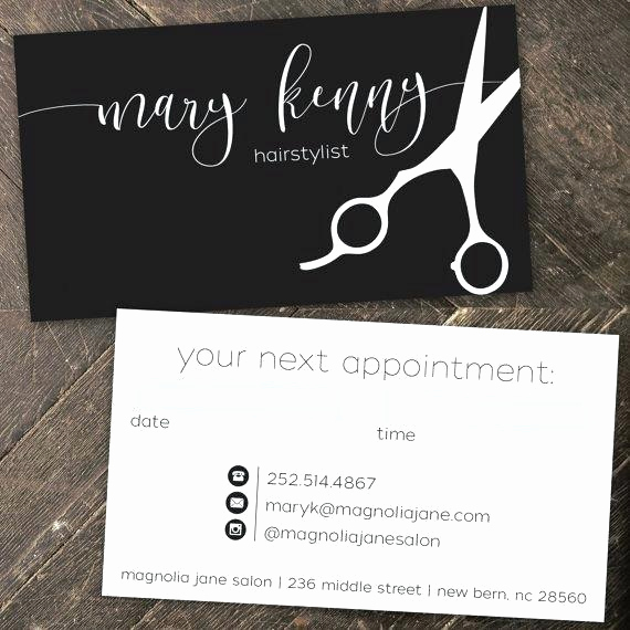 Hair Salon Buisness Cards Unique top 27 Professional Hair Stylist Business Card Tips
