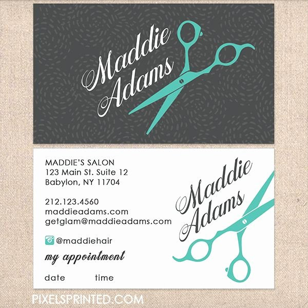 Hair Salon Business Card Fresh Best 25 Salon Business Cards Ideas On Pinterest