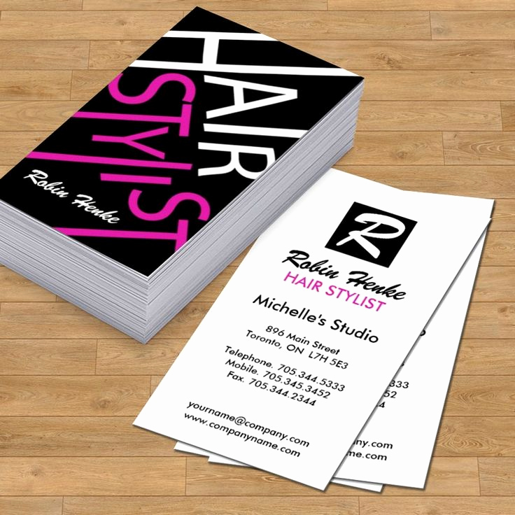 Hair Salon Business Card Lovely top 27 Professional Hair Stylist Business Card Tips