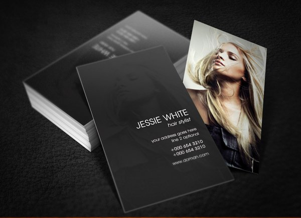 Hair Salon Business Card Luxury 30 Most Stylish Fashion Business Card Designs