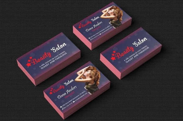Hair Salon Business Card Unique 31 Salon Business Card Templates Psd Word Ai