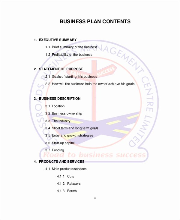 Hair Salon Business Plan Pdf Inspirational Spa & Salon Business Plan Template 10 Free Sample Example format Download