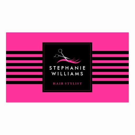 Hair Stylist Business Card Awesome Customizable Hair Stylist Business Card Template
