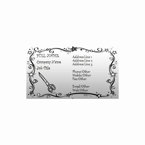 Hair Stylist Business Card Inspirational Business Card Template for Microsoft Word 7 Free Downloads to Choose From