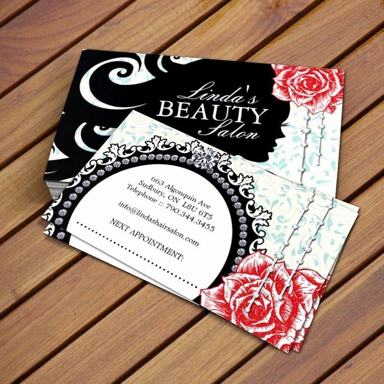 Hair Stylist Business Card Inspirational Hair Salon Business Card