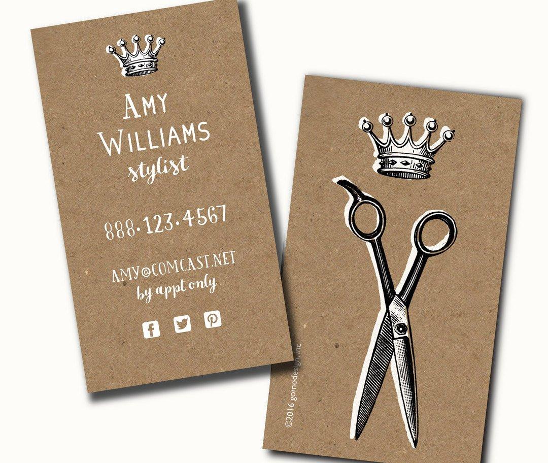 Hair Stylist Business Card Lovely 250 Hair Stylist Creative Business Cards Printed Business