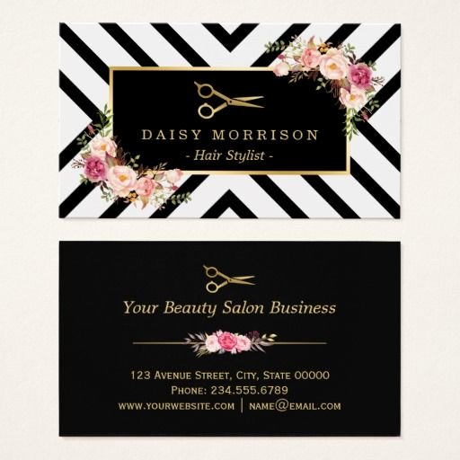 Hair Stylist Business Card New 139 Best Salon Business Cards Images On Pinterest