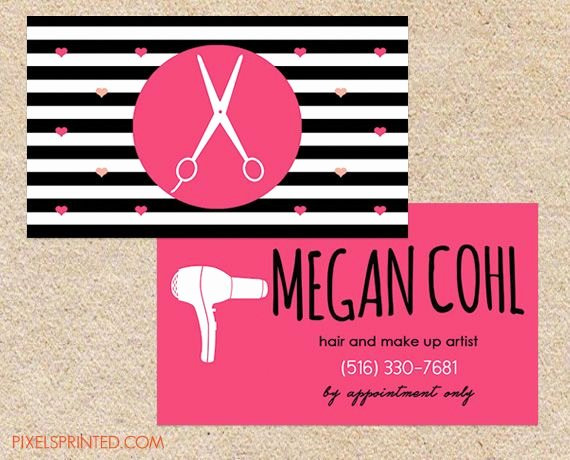 Hair Stylist Business Cards Elegant Best 25 Hairstylist Business Cards Ideas On Pinterest