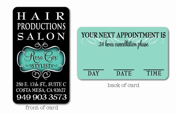 Hair Stylist Business Cards Fresh This Elegant and Stylish Hair Stylist Business Card Design Will Be the Hit Of Your Salon This