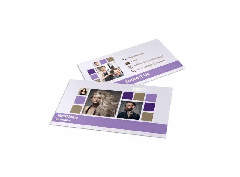 Hair Stylist Business Cards Templates Fresh Creative Hair Salon Business Card Template