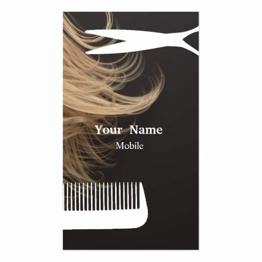 Hair Stylist Business Cards Templates Luxury Hair Stylist Business Card Templates