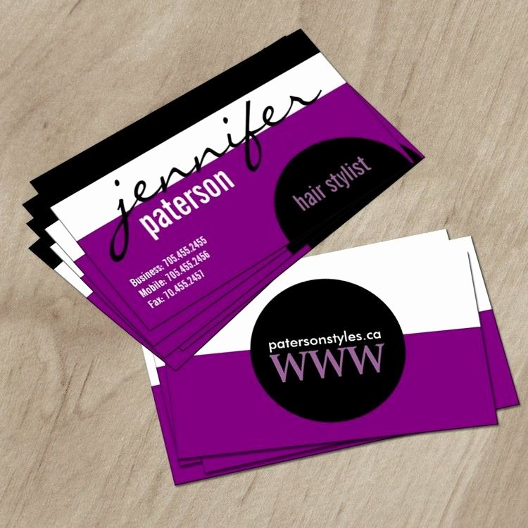 Hair Stylist Business Cards Templates New Designer Business Card Zazzle Hair Salon Business Card Templates