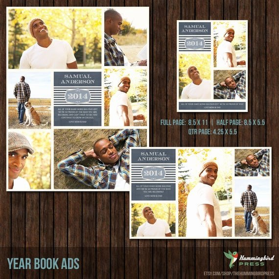 Half Page Flyer Template Free Fresh Items Similar to Instant Download Yearbook Ad Templates 3 Sizes Included Y9 On Etsy
