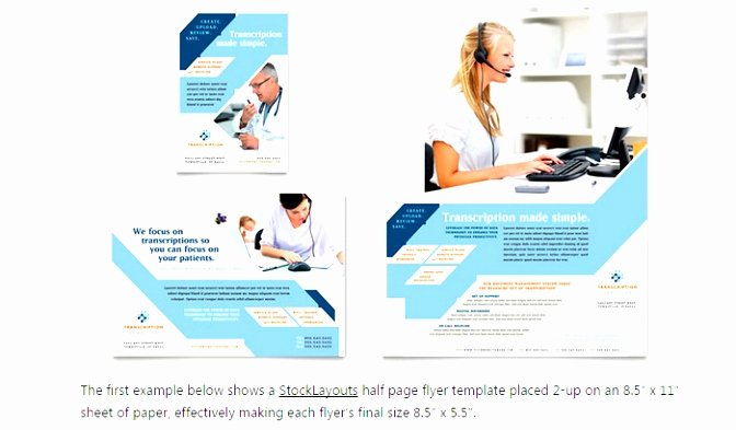 Half Page Flyer Template Free Lovely 9 Quarter Sheet Flyer Template Word Ityot