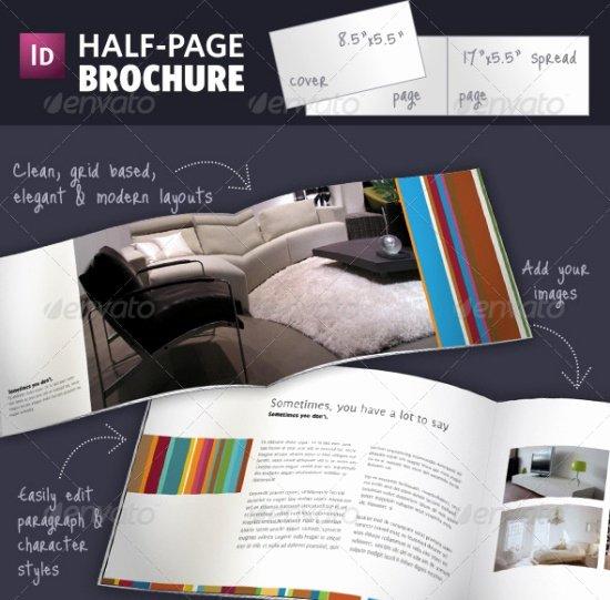 Half Page Flyer Template Free Luxury 35 Odličnih Dizajna Brošura