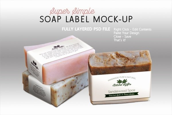 Handmade soap Label Template Fresh 22 soap Label Designs Psd Vector Eps Jpg Download