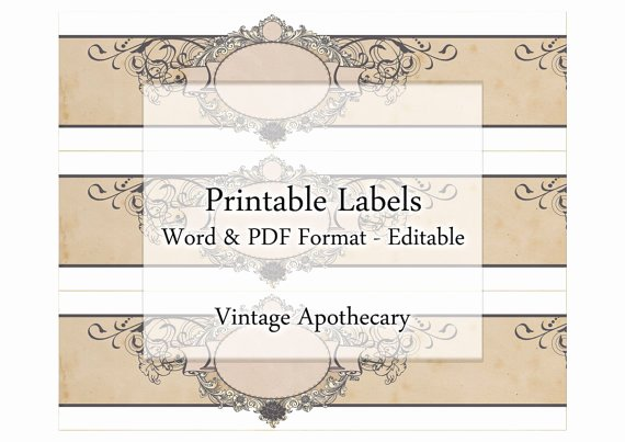 Handmade soap Label Template Luxury soap Label Templates
