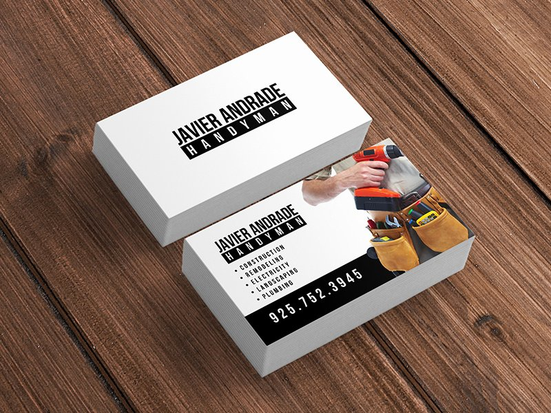 Handy Man Business Cards Beautiful Handyman Business Cards