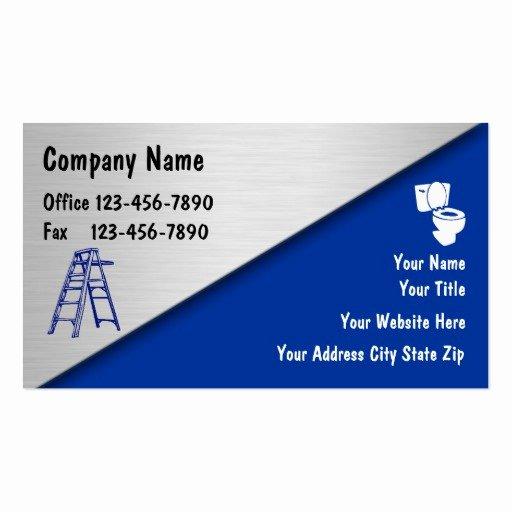 Handy Man Business Cards Inspirational Handyman Business Cards