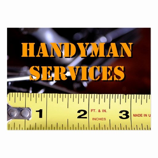 Handy Man Business Cards Inspirational Handyman Services2 Business Cards Pack 100