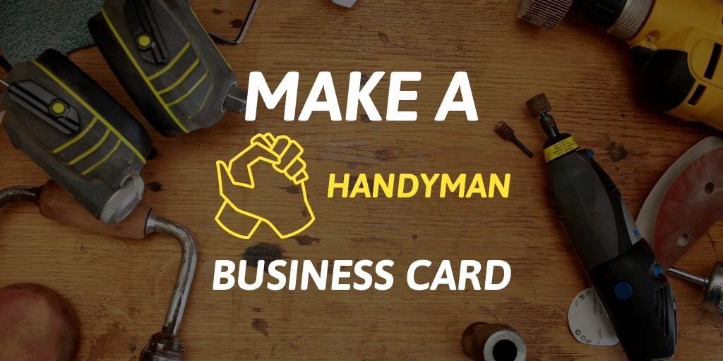 Handy Man Business Cards Lovely Handyman Business Cards as solid as Your Work Placeit Blog
