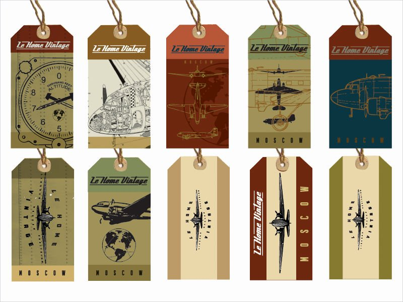 Hang Tag Design Template Awesome 20 Hang Tag Designs