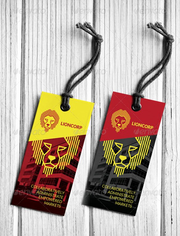 Hang Tag Design Template Awesome 29 Hang Tag Template Free Printable Vector Eps Psd