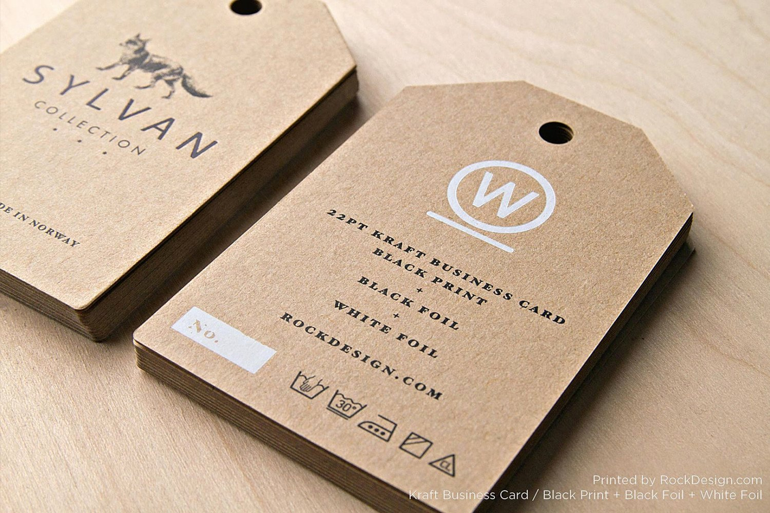 Hang Tag Design Template Beautiful Free Kraft Paper Business Card Template