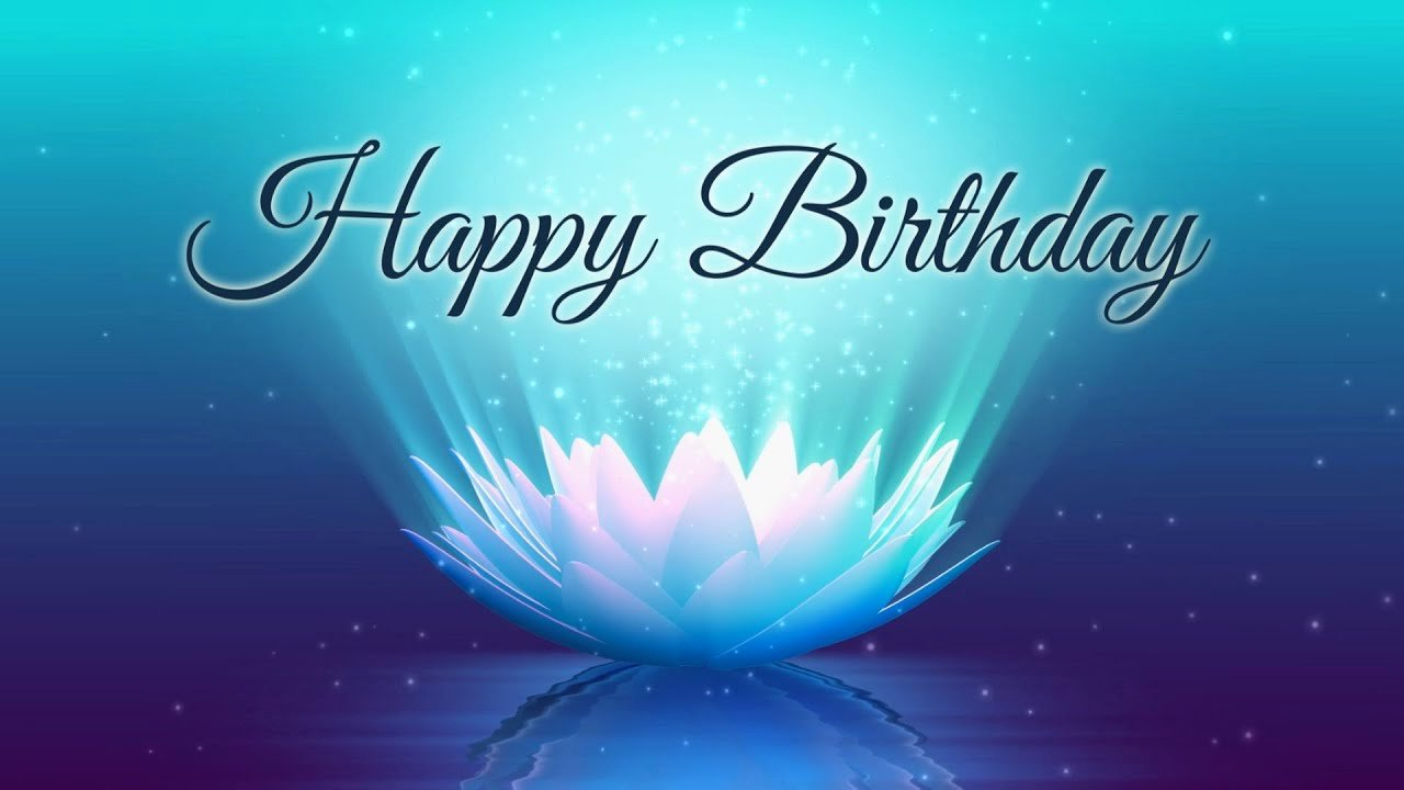 Happy Birthday Background Images Fresh Happy Birthday Lotus Video Animation Motion Graphics Background