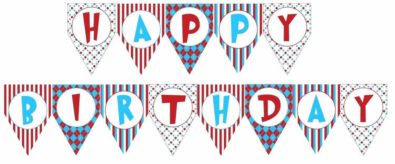 Happy Birthday Banner Design Lovely Birthday Banner Printable Templates