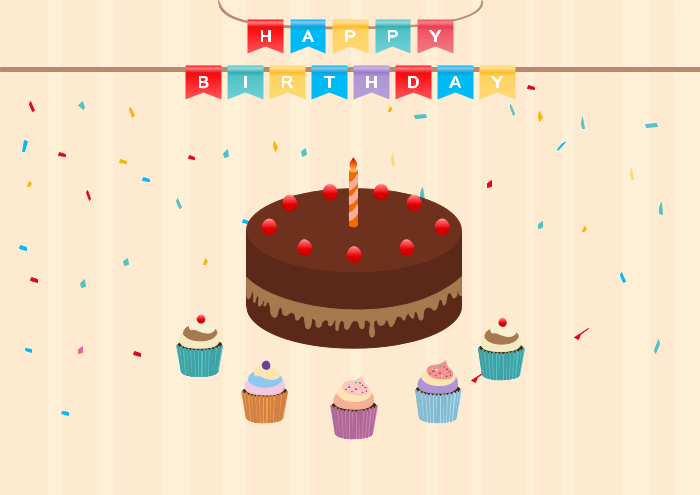 Happy Birthday Template Word Awesome Free Editable and Printable Birthday Card Templates