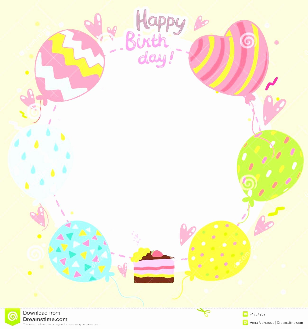 Happy Birthday Template Word Best Of Birthday Card Template