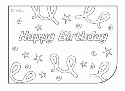 Happy Birthday Template Word Unique 34 Free Birthday Card Templates In Word Excel Pdf