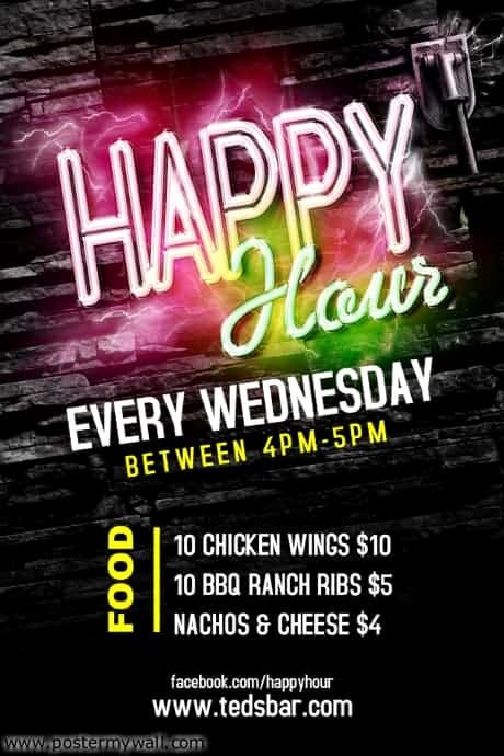 Happy Hour Flyer Templates Free Beautiful Free Flyer Templates and Line tools You Probably Didn T