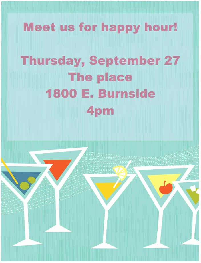 Happy Hour Flyer Templates Free Elegant Printable event and Promotion Signs