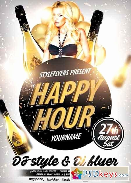 Happy Hour Flyer Templates Free Luxury Happy Hour Psd Flyer Template Free Download Shop
