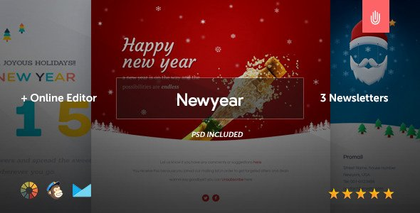 Happy New Year Email Template Best Of Happy New Year 2016 Email Template Business Greetings