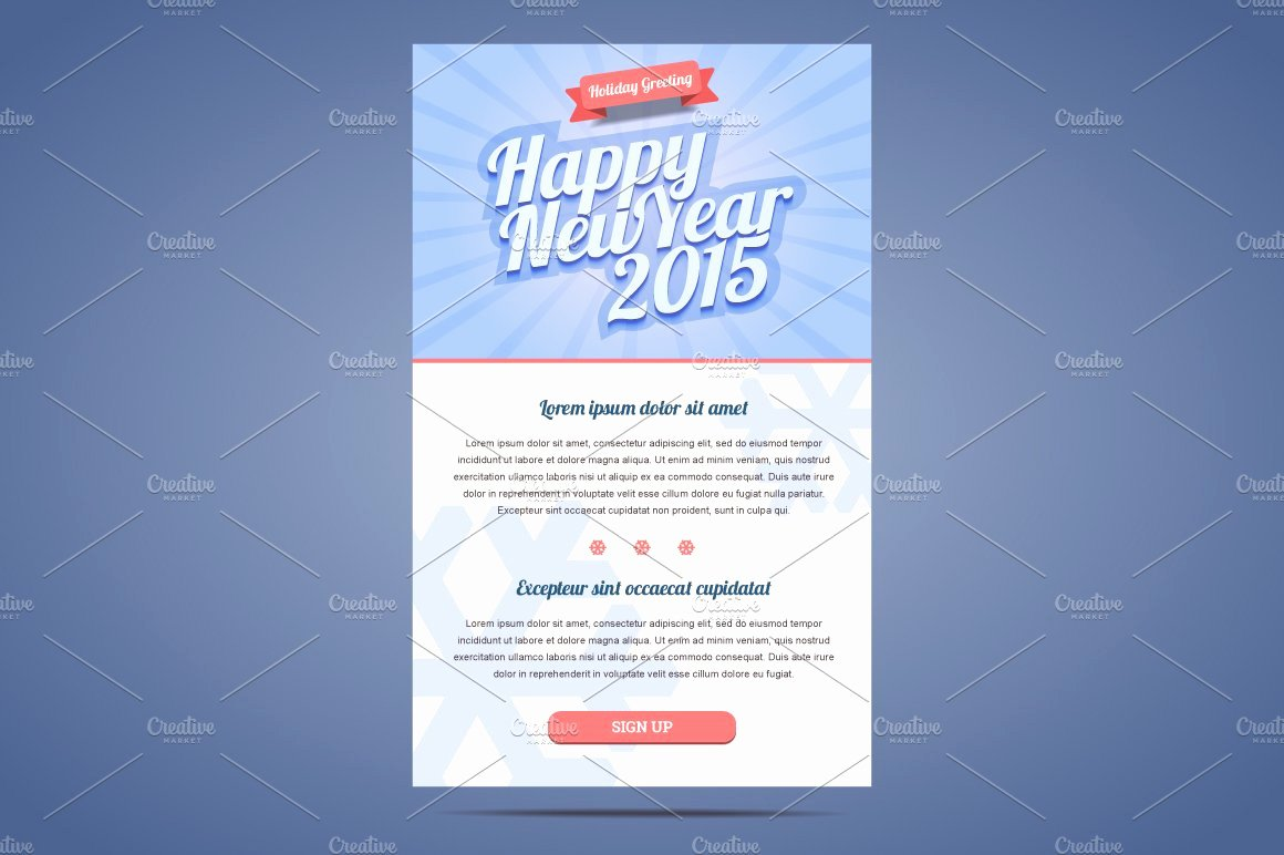 Happy New Year Email Template Fresh Happy New Year Email Template Illustrations Creative
