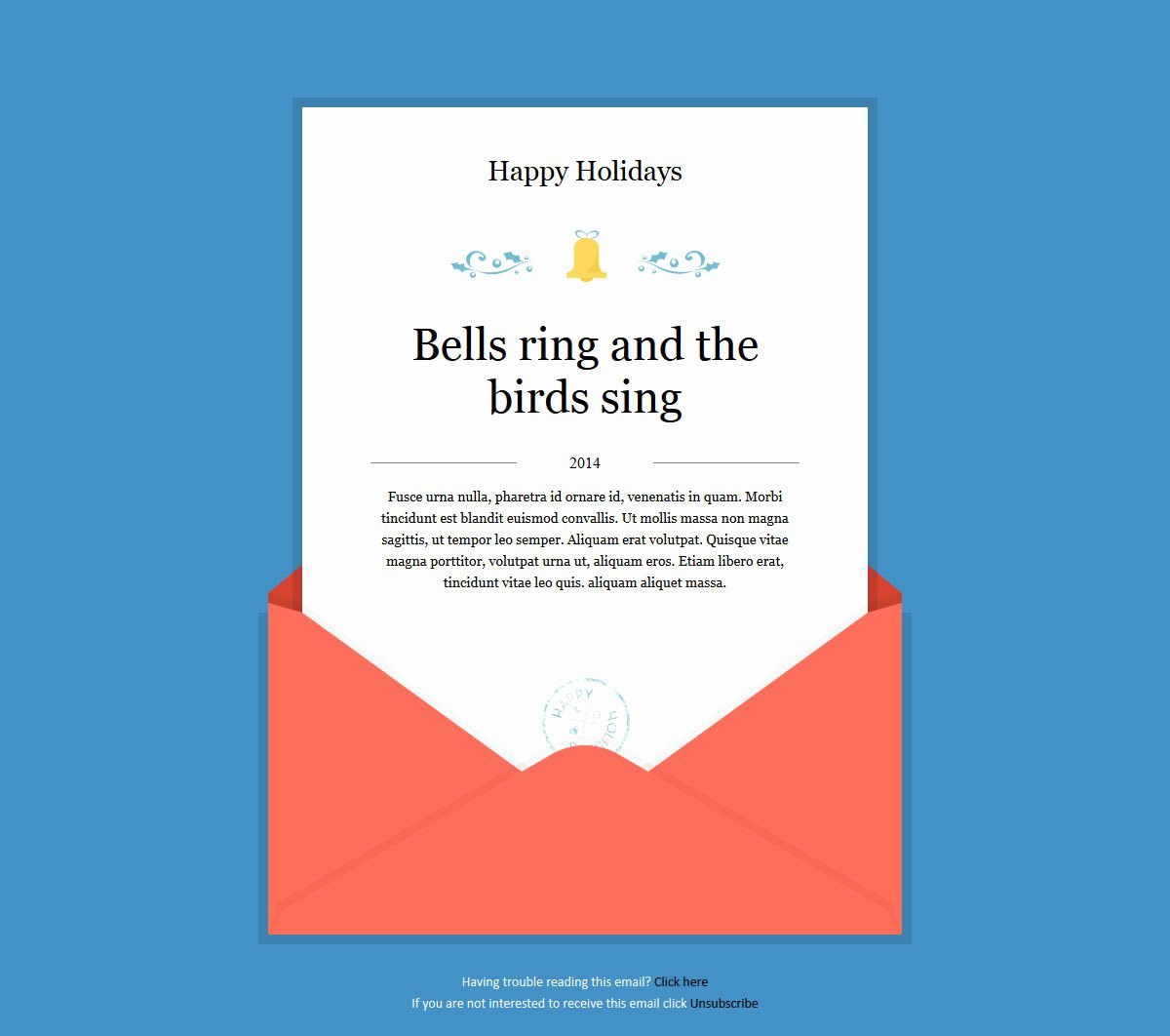 Happy New Year Email Template New 20 Wonderful Christmas & New Year Email Templates – Bashooka