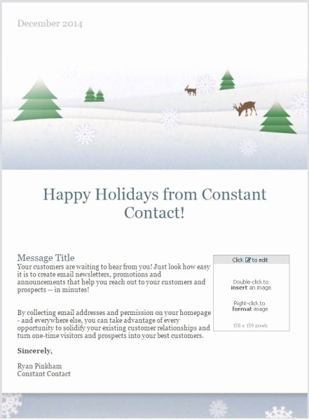 Happy New Years Email Template Luxury Business for You 7 Email Templates to Drive Results This Holiday Season