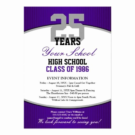 High School Reunion Flyer Lovely 30 Best Images About Class Reunion Planning On Pinterest