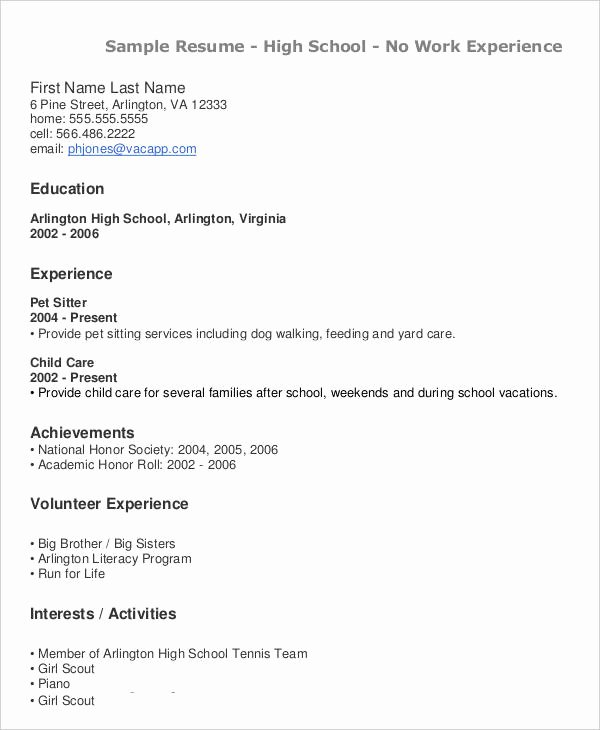 High School Teacher Resume Unique 40 Modern Teacher Resume Templates Pdf Doc