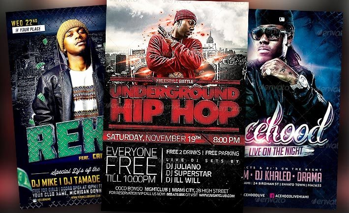 Hip Hop Flyer Templates Beautiful Download the Best Hip Hop Flyer Templates for Shop