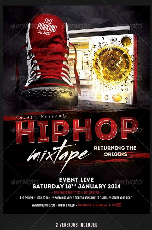 Hip Hop Flyer Templates Unique 1000 Images About Hip Hop Flyer Template On Pinterest