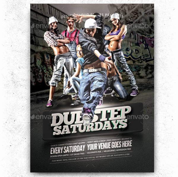 Hip Hop Party Flyer Inspirational 83 Party Flyers Psd Word Ai Pages Eps formats