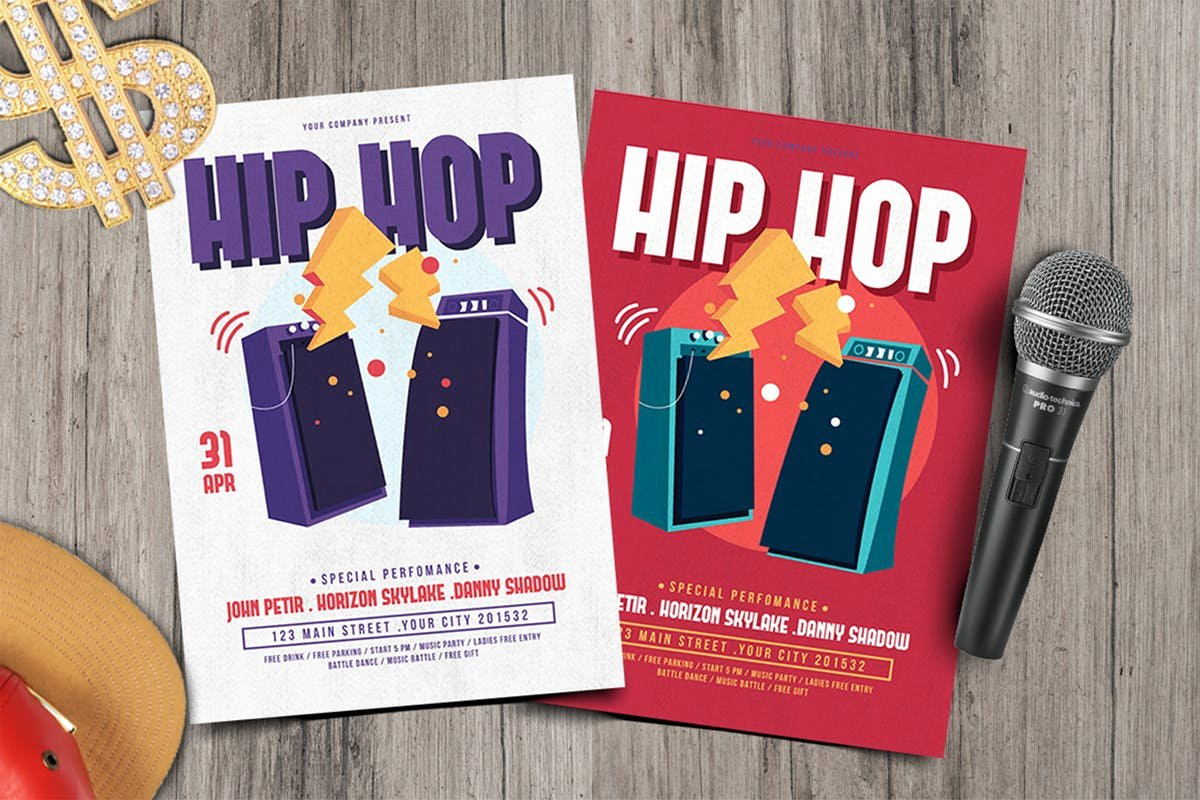 Hip Hop Party Flyer Lovely Hip Hop Party Flyer by tokosatsu On Envato Elements