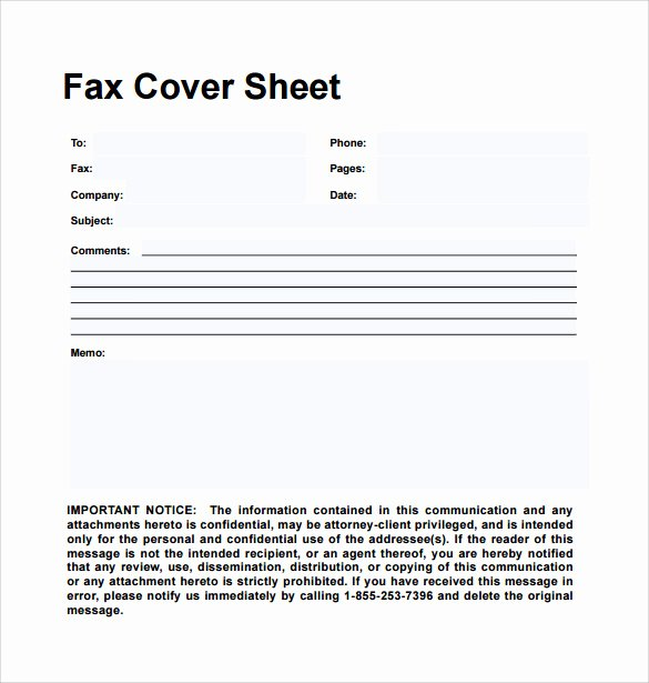 Hipaa Fax Cover Sheet Elegant Sample Personal Fax Cover Sheet