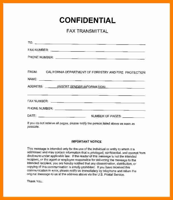 Hipaa Fax Cover Sheet Fresh 6 Medical Fax Cover Sheet Confidentiality Statement