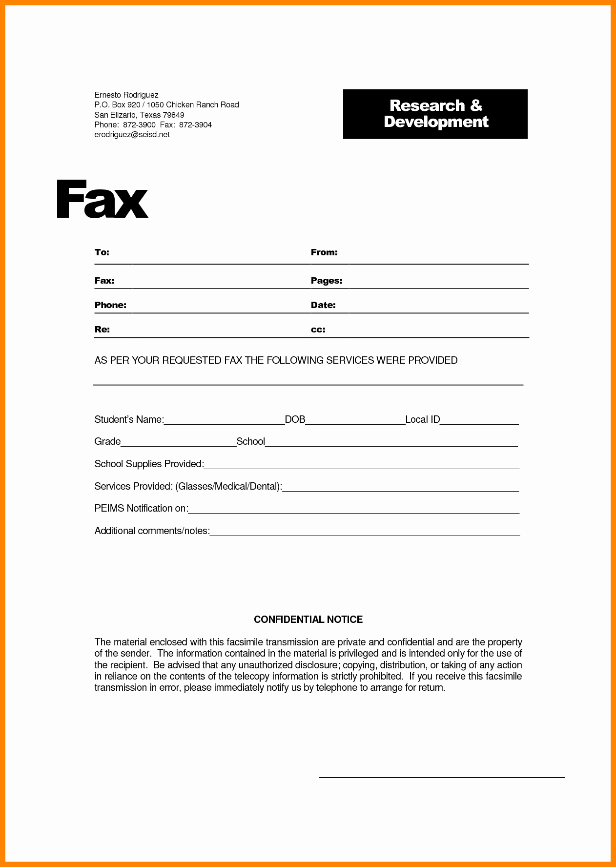 Hipaa Fax Cover Sheet New 9 Hipaa Fax Confidentiality Statement